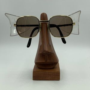 Vintage Titmus C574 Gold Oval Sunglasses